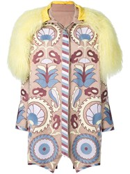 Yuliya Magdych Delight Embroidered Coat Multicolour