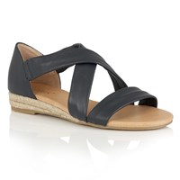 Lotus Arielle Strappy Sandals Navy
