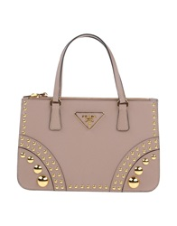 Prada Handbags Dove Grey