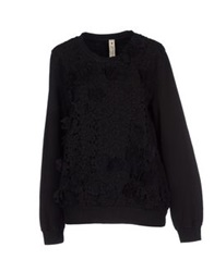 Le Coeur De Twin Set Simona Barbieri Sweatshirts Black