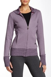The North Face Cloudcrest Full Zip Hoodie Purple