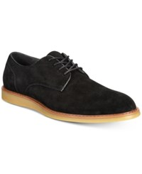 Bar Iii Henry Suede Derby Shoes Created For Macy's Shoes Black