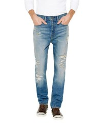 Levi's Toto 513 Distressed Jeans Blue