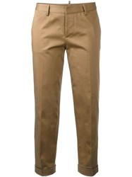 Dsquared2 Slim Capri Trousers Brown
