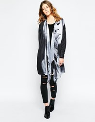 Religion Vague Longline Cardigan Pourprint