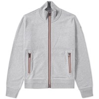 Moncler Stripe Trim Track Top Grey