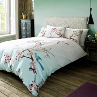Ted Baker Flight Of The Orient Duvet Cover Blue