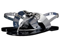 Tahari Jay Silver Rubber Women's Sandals