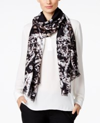 Inc International Concepts Bohemian Paisley Scarf Only At Macy's Black