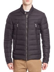 Moncler Quilted Nylon Jacket Black