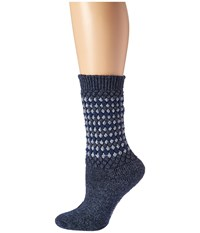Wigwam Jacy Navy Women's Crew Cut Socks Shoes