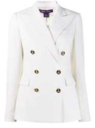 Ralph Lauren Collection Double Breasted Fitted Blazer 60
