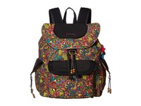 Sakroots Artist Circle Flap Backpack Rainbow Spirit Desert Backpack Bags Multi