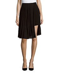 Akris Accordion Pleated Pantskirt Black