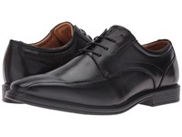 Florsheim Heights Bike Toe Oxford Black Smooth Men's Lace Up Bicycle Toe Shoes