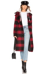 Kendall Kylie Wool Layered Coat