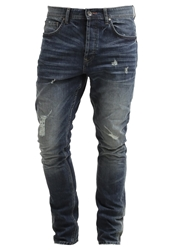 Only And Sons Slim Fit Jeans Dark Blue Denim