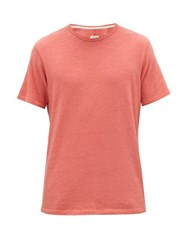 Rag And Bone Classic Cotton Jersey T Shirt Dusty Pink