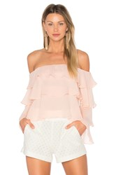Lovers Friends X Revolve Zayn Top Pink