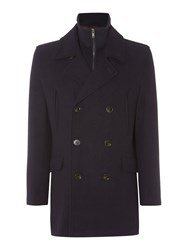 Linea Calver Peacoat With Funnel Insert Navy
