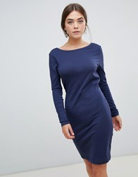 Minimum Moves By Shift Dress Navy