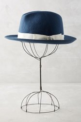 Anthropologie Wool Yakima Fedora Teal