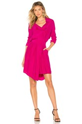 Icons The Trench Dress Fuchsia