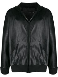 Alchemy Hooded Faux Leather Jacket 60