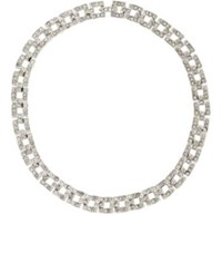 Kenneth Jay Lane Women's Pave Rhinestone Collar No Color