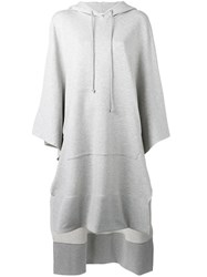Maison Martin Margiela Mm6 Oversized Hoodie Grey
