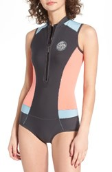 Rip Curl Women's G Bomb Wetsuit Coral