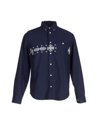 Carhartt Shirts Shirts Men Dark Blue