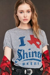 Urban Outfitters Palmercash Shiner Tee Grey