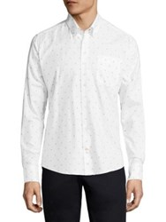 Barbour Yarmouth Regular Fit Button Down Shirt White