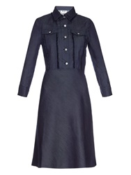 Acne Studios Breve Button Front Denim Dress