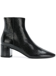 Saint Laurent Classic Ankle Boots Black