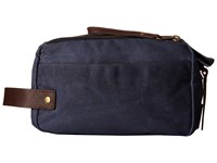 Will Leather Goods Yocum Ridge Travel Kit Navy Travel Pouch