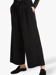French Connection Angeline Wide Leg Trousers Black