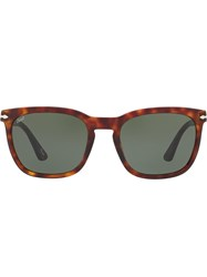Persol Square Sunglasses Brown