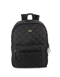 Kate Spade Siggy Quilted Backpack Black