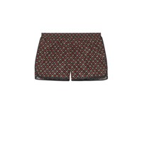 Gucci Nylon Swim Shorts With Gg Star Print