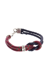 Icon Brand Nautical Rope Bracelet Red