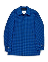 Ben Sherman Long Sleeved Print Jacket Blue