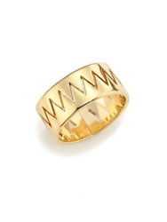 Annelise Michelson Carnivore Cutout Ring Gold