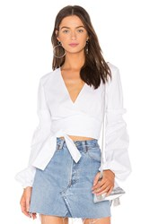 The Fifth Label Beyond Wrap Top White