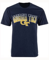 Colosseum Men's Georgia Tech Gradient Arch T Shirt Navy
