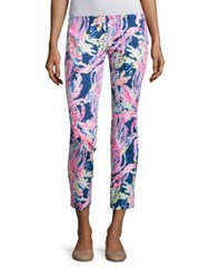 Lilly Pulitzer Kelly Skinny Ankle Pants Indigo