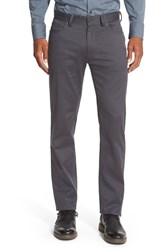 Vince Camuto Men's Sraight Leg Five Pocket Stretch Pants Charcoal Cavalry Twill