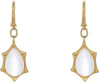 Cathy Waterman Gemstone Drop Earrings Colorless