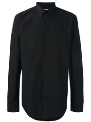 Givenchy Embroidered Sleeve Shirt Black